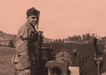 Aldo Favini artigliere